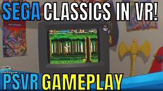 Sega Mega Drive Classics | PSVR | First Impression!!!!