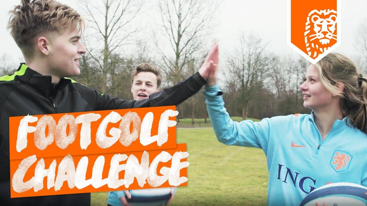 FOOTGOLF CHALLENGE ft. FIFALOSOPHY LUCKYGRAAFNL & MASCHA ... Golfbaan Spaarnwoude