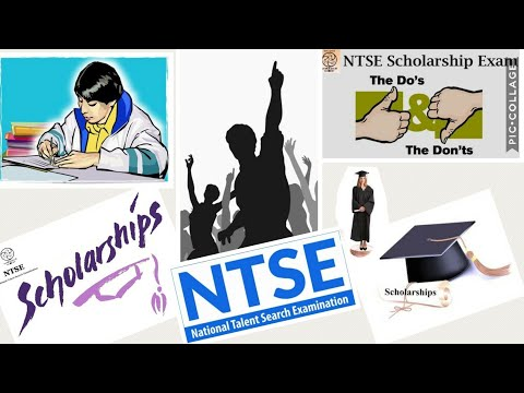 NTSE SCHOLARSHIP EXAM, STATE and NATIONAL LEVEL