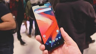 ONEPLUS 6 Hands On & First Impressions! (Launch Event)