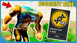 Buying The Infinite Size Gamepass in Roblox Crushing Simulator