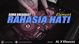 DJ RAHASIA HATI 2021 - ELEMENT (RyanInside Remix) Req. Al X Khucuzz