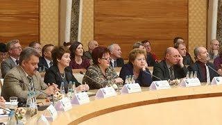 Лукашенко даёт пресс-конференцию для представителей российских региональных СМИ