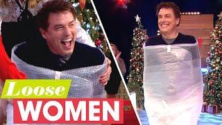 John Barrowman Arrives Bubble-Wrapped!   Loose Women