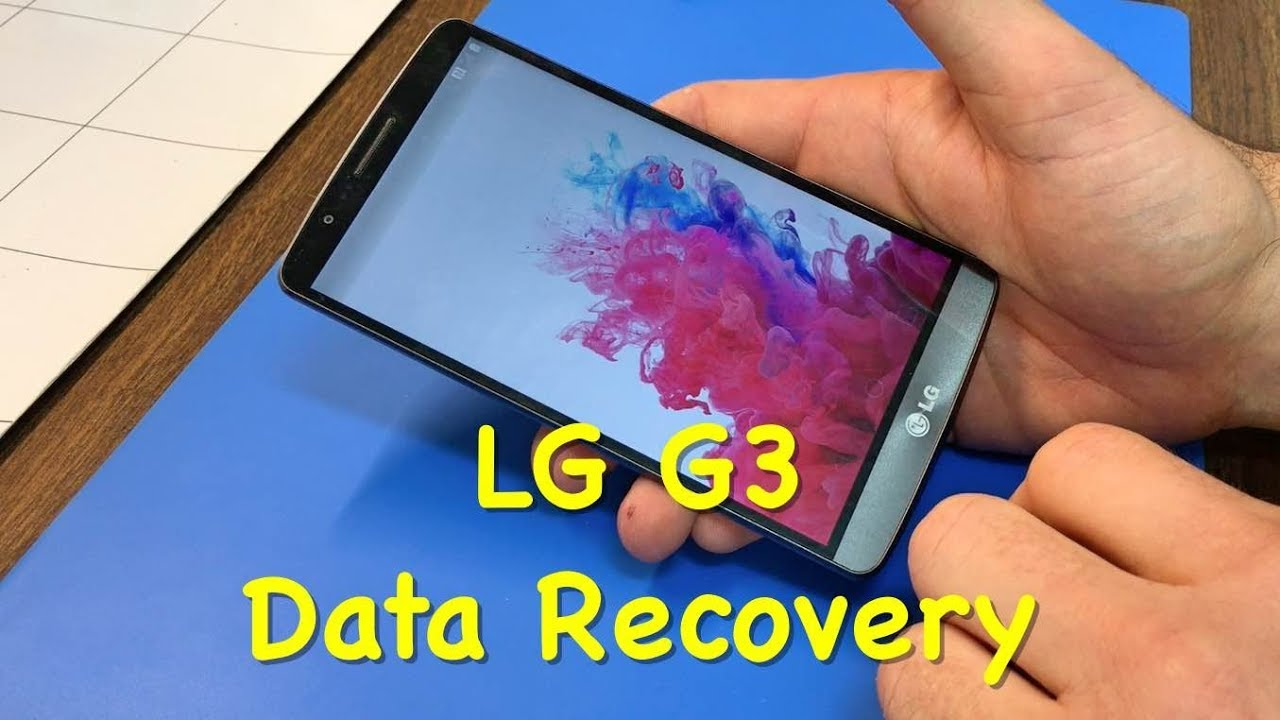 LG G3, G4 Data Recovery Due to No Boot/Bootloop
