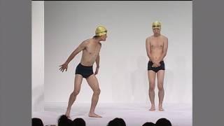ジャルジャル コント「水泳部 部活紹介」