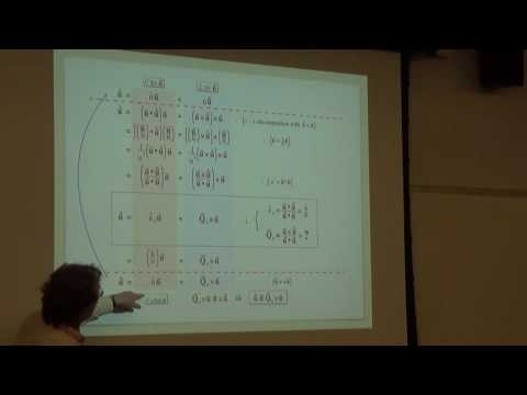 Intermediate Dynamics: Geometric Aspects of Vector Calculus (3 of 29)