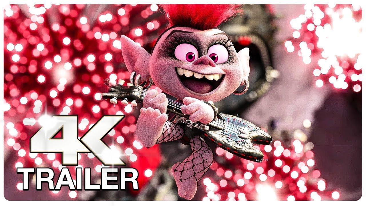 TROLLS 2 WORLD TOUR : 5 Minute Trailers (4K ULTRA HD) NEW 2020