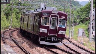 能勢電鉄 山下駅での電車発着の様子撮影まとめ