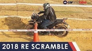 2018 Royal Enfield Scramble – Gurugram | NDTV carandbike