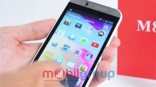 Китайский телефон HTC One M8 4,3 дюйма видео обзор(Смартфон HTC One M8 Android Экран 4,3 хорошая китайская копия Подробнее на: ..., 2014-07-24T08:35:09.000Z)