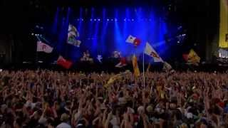 The Killers, Spaceman Live T in the park 2013