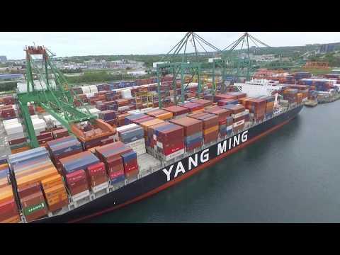 DJI Phantom 3 Video - YM MODERATION at Fairview Cove - Port of Halifax (June 16, 2017)