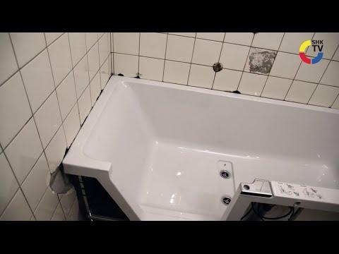 shk tv reportage panelle von duscholux als alternative zu neuen fliesen youtube. Black Bedroom Furniture Sets. Home Design Ideas