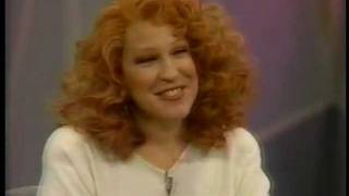 Bette Midler says it was rough to work with Shelley Long on Oprah in 1988