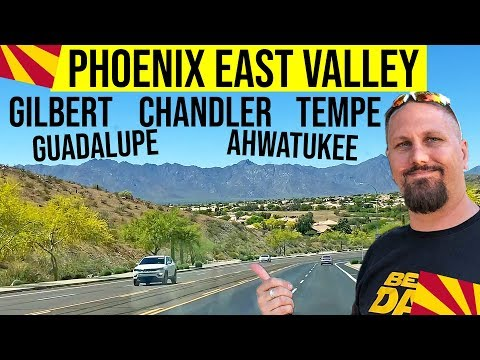 Gilbert, Chandler, Tempe, and Ahwatukee, AZ Tour | Living in Phoenix Arizona Suburbs