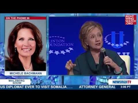 RWW News: Michele Bachmann Says The Clinton Foundation Is 'An International Money Laundering Ring'