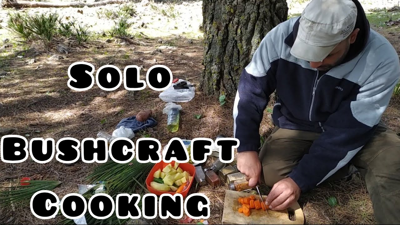 Solo Bushcraft Cook | Camping & Survival, Cooking
