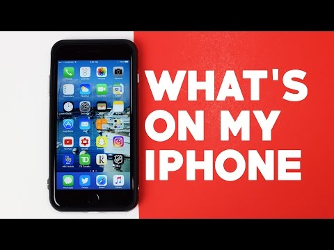 What's on my iPhone? - 2017