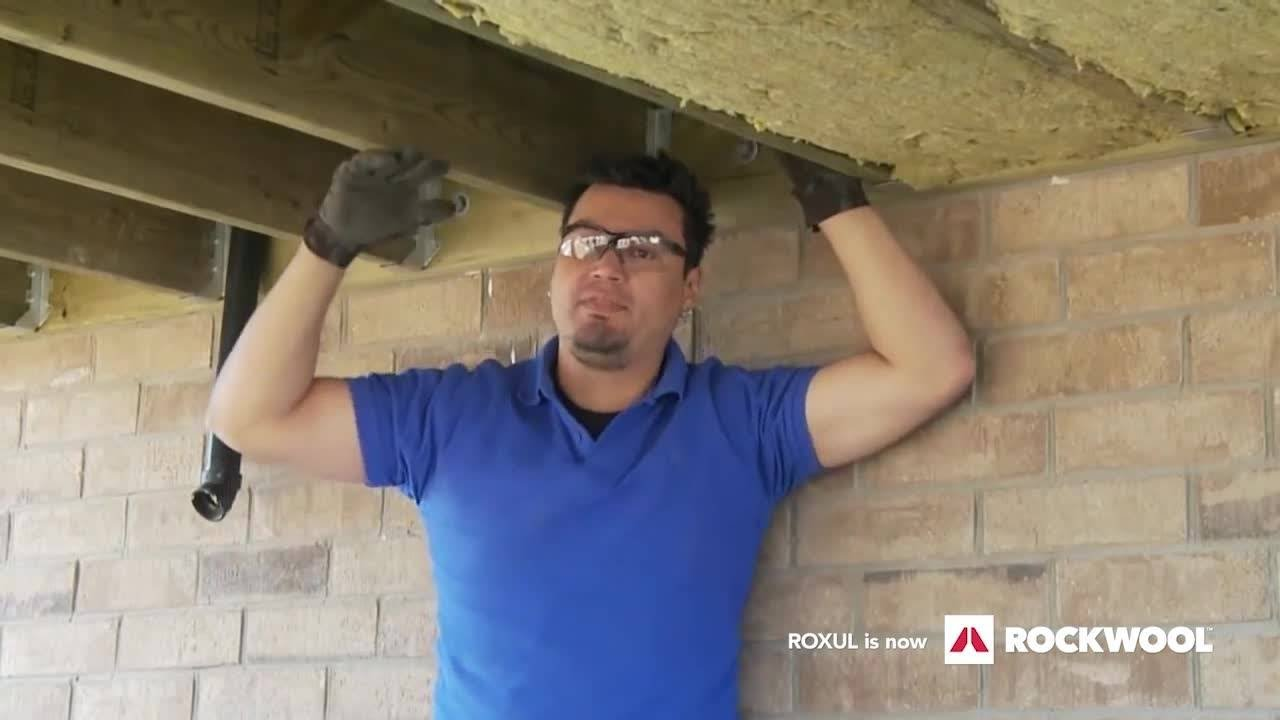 Insulating A Floor Over An Unheated Space Youtube