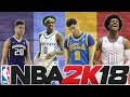 PREDICTING THE NBA 2K18 ROOKIE CLASS PLAYER RATINGS!