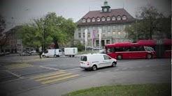 Zeitraffer Viktoriaplatz | Hier wird es auf dem Velo heikel