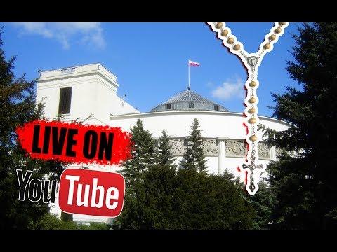 🔴 LIVE - 11 listopada otaczamy Sejm RP Różańcem Świętym