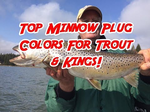 Top Minnow Plug Colors For Trout & Kings!