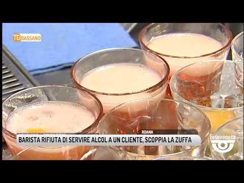 TG BASSANO (23/04/2019) - BARISTA RIFIUTA DI SERVI...
