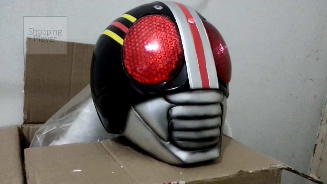 Masked Kamen Rider Black LED 1:1 Helmet
