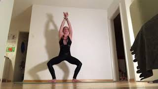 Mix of yoga strength training Yoga and Fitness with Rhyanna Watson