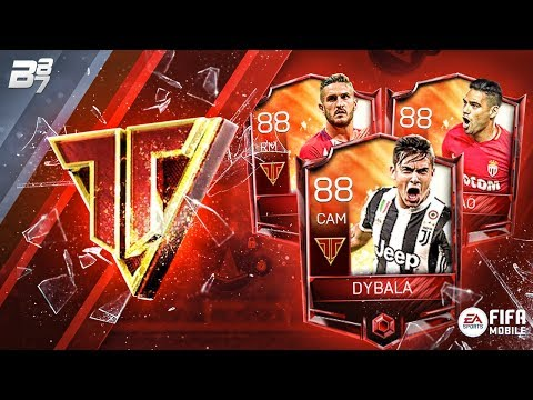 NEW TEAM HEROES PACKS! KOKE, FALCAO AND DYBALA! | FIFA MOBILE