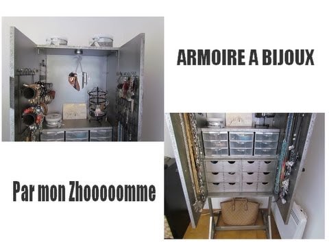 mon armoire bijoux cr eparmonzhomme youtube. Black Bedroom Furniture Sets. Home Design Ideas