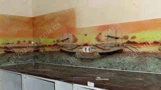 Cкинали в Одессе(Скинали на кухню от компании Безрамов в Одессе. скинали - стекло вместо плитки на рабочую поверхность кухни...., 2016-07-11T05:50:41.000Z)