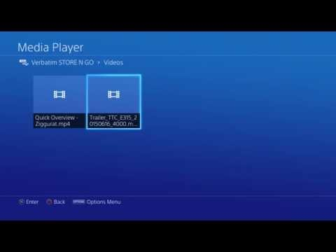 Quick Overview - Media Player on PS4