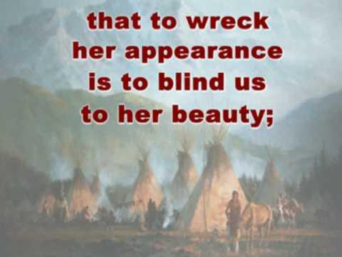 Great Spirit Prayer - Douglas Spotted Eagle - Native American