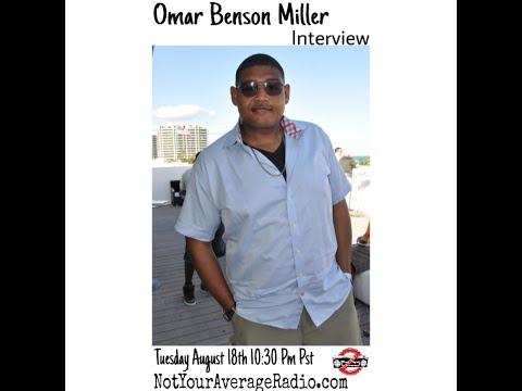Omar Benson Miller #NotYourAverageInterview