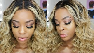 When the kids SLEEP mama can SLAY ❤︎ Holiday Glam GRWM