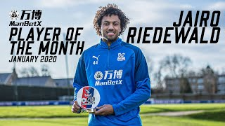 Jairo Riedewald | January ManBetX Player of the Month