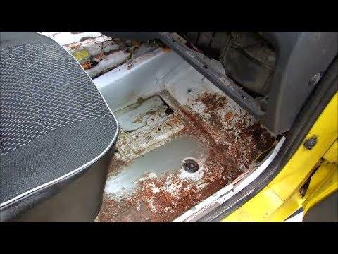 Почему автомобиль ржавеет с внутри.) Как этого избежать.