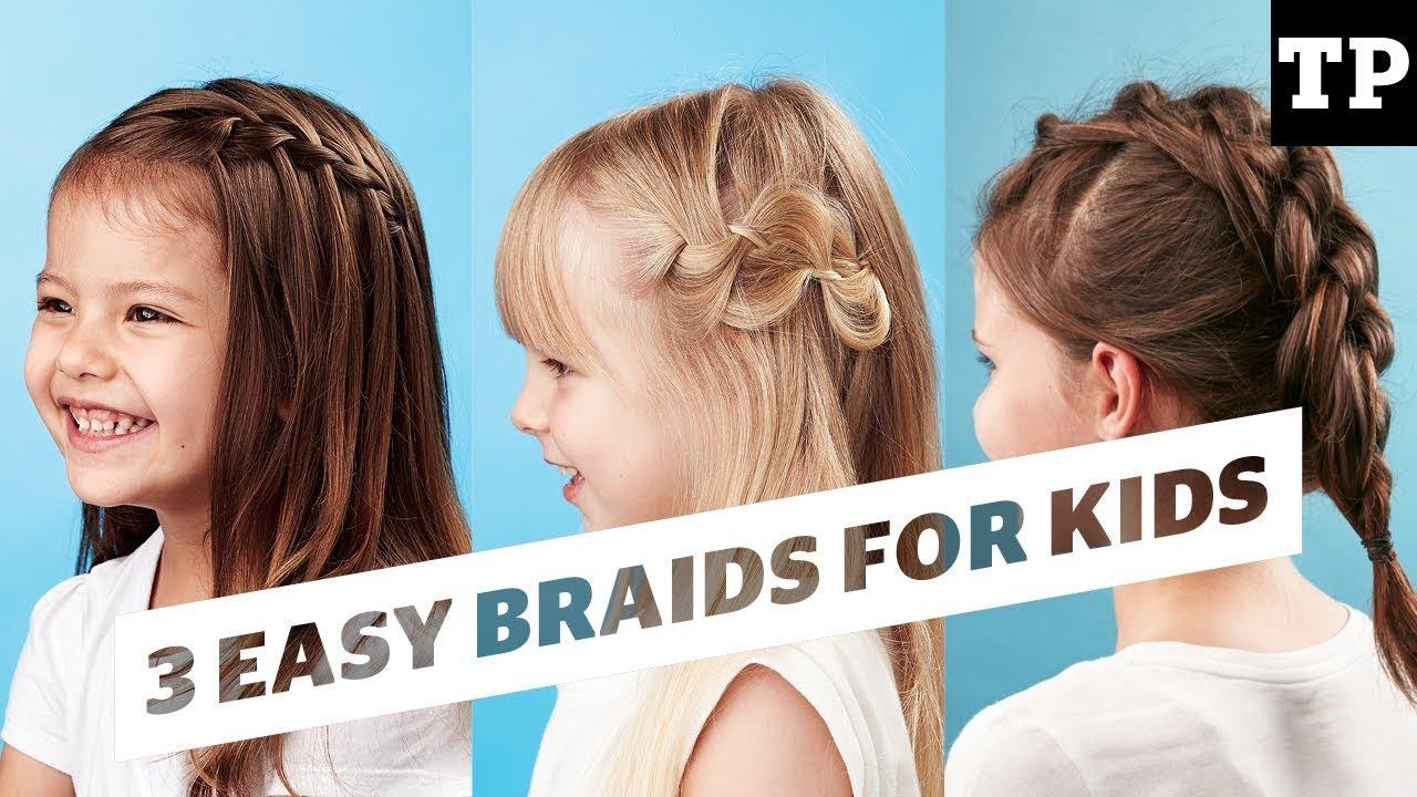 How To 3 super easy braid ideas