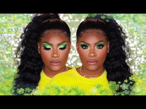 New Bright Green Makeup Tut - Tammi x Makeup Revolution thumbnail
