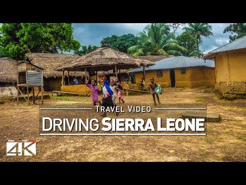 【4K】22 MINUTES | Driving Sierra Leone (West Africa) | 2020 | Freetown | UltraHD Travel Video