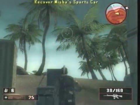 MERCENARIES 2 PS2 - MISSION 5 GET JET PILOTE