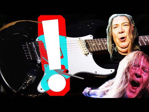 la guitare IDÉALE pour les fans d'Iron Maiden ? ? Charvel Super Stock SC-1