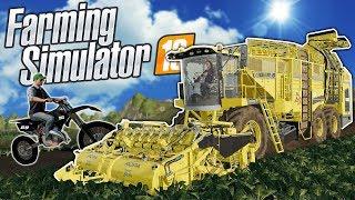 DIRT BIKE MOD & BEET FARMING! - Farming Simulator 19 Multiplayer Mod Gameplay