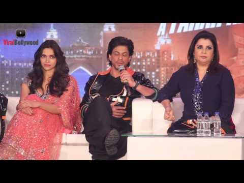 Funny Reporter Asked Funny Question To Shahrukh Khan | Happy New Year | Movie Mp3