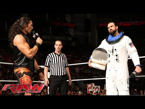 Adam Rose vs. Damien Sandow: Raw, July 28, 2014