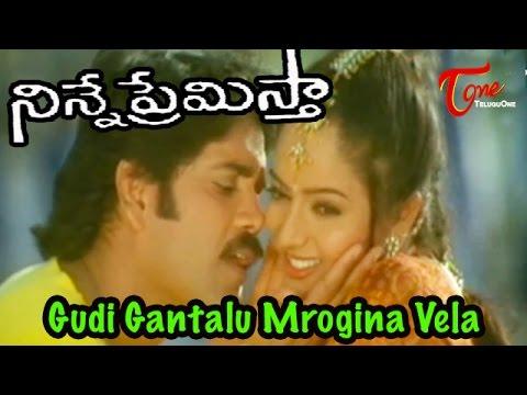 Ninne Premistha - Telugu Songs - Gudi Gantalu Mogina Vela