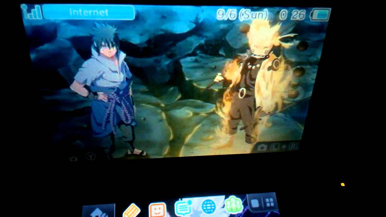 Naruto 3DS Custom Theme  YouTube
